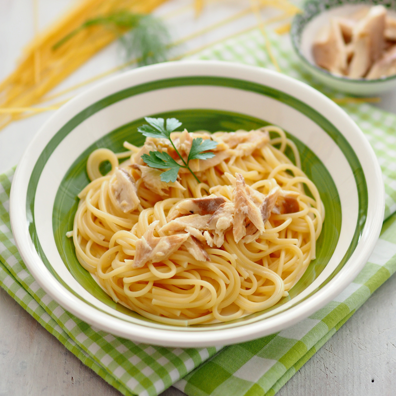 Fisch Spaghetti