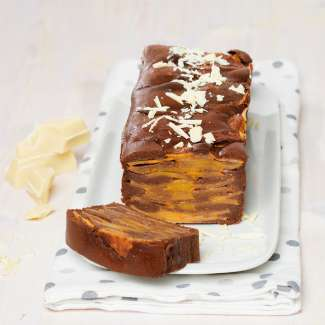 kaki schokoladen schichtkuchen kochrezepte von kochen k che. Black Bedroom Furniture Sets. Home Design Ideas