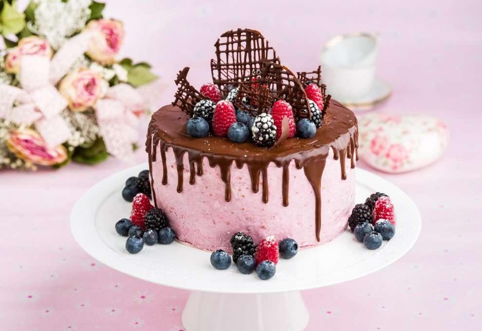 Waldbeer Joghurt Torte Kochrezepte Von Kochen Kuche