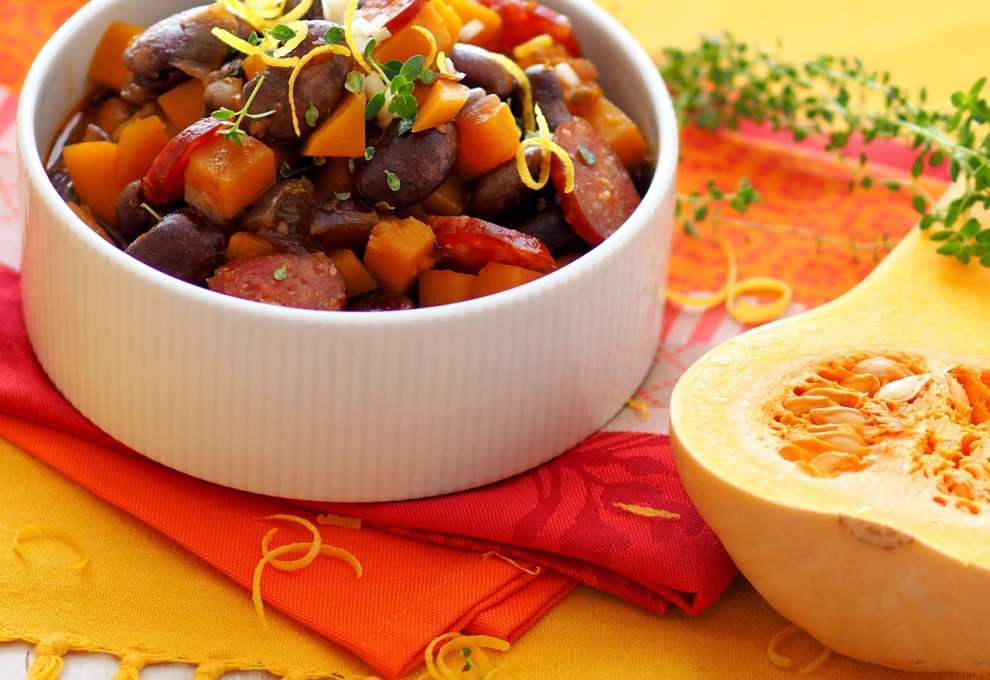 Käferbohnen Kürbisgulasch Kochrezepte Von Kochen Küche