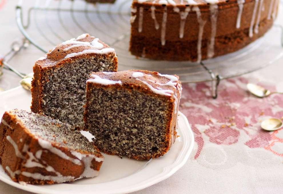 Schneller Joghurt Mohn Becherkuchen Kochrezepte Von Kochen Kuche