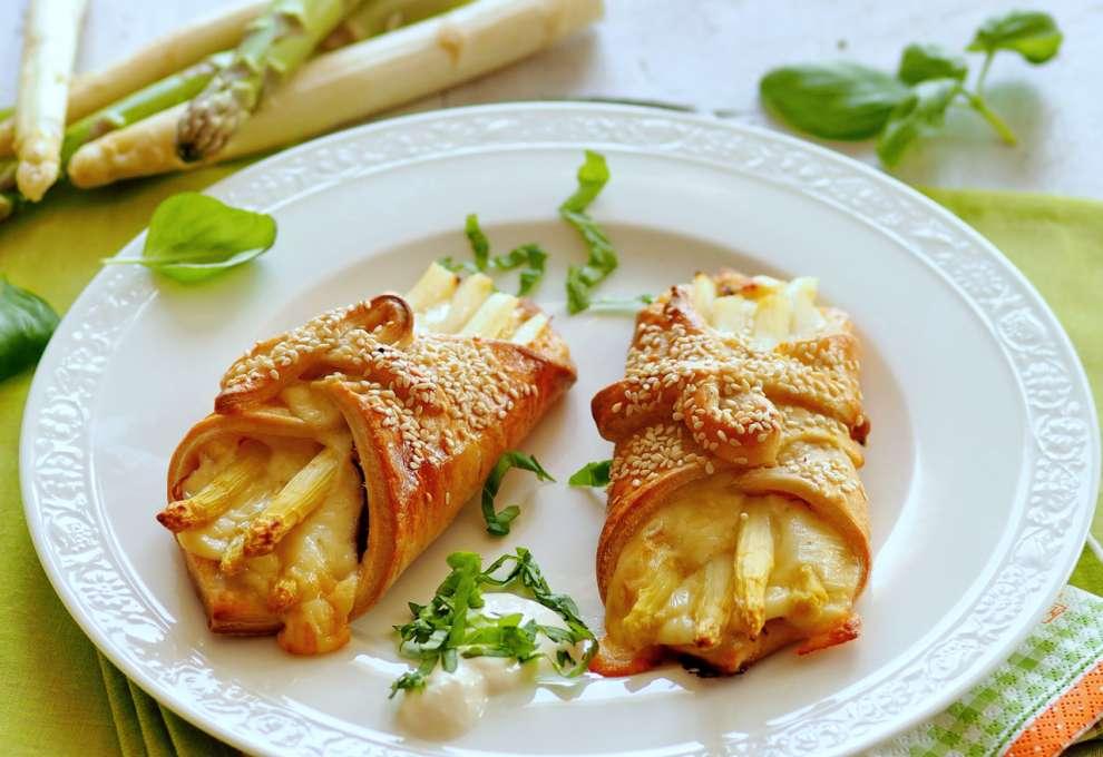 Spargelschiffchen Aus Blätterteig Kochrezepte Von Kochen Küche