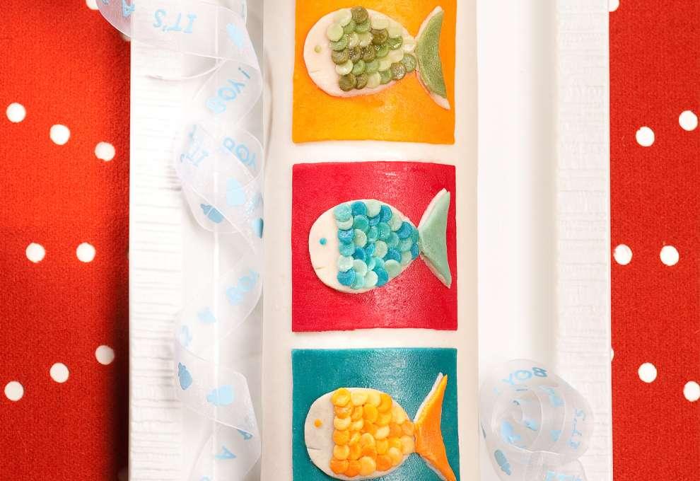 Selber taufe machen deko marzipan Bibeltorte von