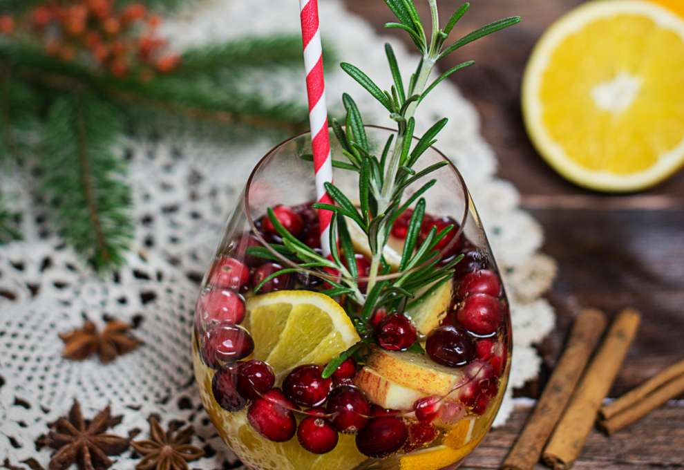 Weihnachts-Sangria » Kochrezepte von Kochen & Küche