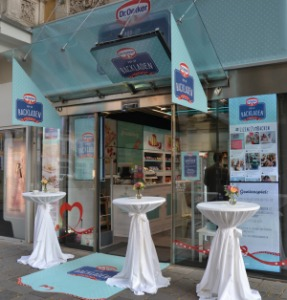 Dr. Oetkers Pop-up Backladen in Wien