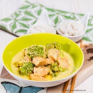 Fisch-Curry mit Romanesco