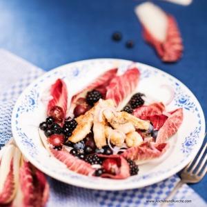 Radicchio-Beeren-Salat