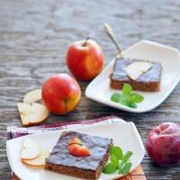 Apfel-Schokoladeschnitten
