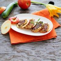 Apfel-Zucchini-Puffer