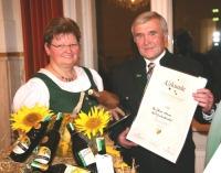 Der Betrieb Johann Maurer freut sich über den Sieg beim Steirischen Kürbiskernöl-Championat.