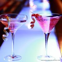 Cocktails mit Champagner