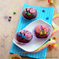 Glückskäfer-Muffins