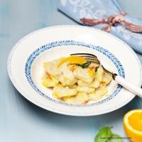 Gnocchi mit Ingwer-Orangen-Butter