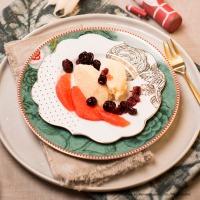 Grapefruit-Grießmousse