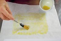 Hendlbrüstchen im Butterpapier