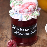 Himbeer-Most-Marmelade