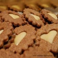 Orangen-Schokoladen-Kekse mit Marzipan selber machen6