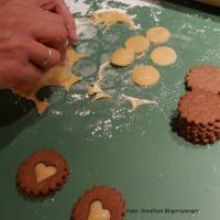 Orangen-Schokoladen-Kekse mit Marzipan selber machen3