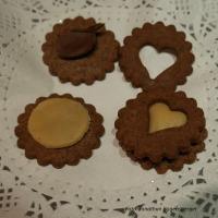 Orangen-Schokoladen-Kekse mit Marzipan selber machen4