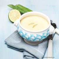 Limetten-Knoblauchsuppe