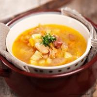 Deftig scharfe Sauerkrautsuppe