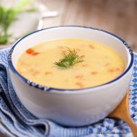 Wärmende Fischsuppe mit Kabeljau und Ingwer