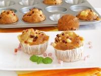 Ein Hit für zu Hause und für unterwegs - die Pikanten Muffins à la Hawaii.