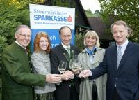 Die Jury der Weinpaten 2009.