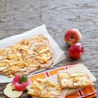 Pikante Apfelpizza