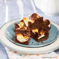 Schokolade-Topfen-Pistazien-Brownies