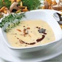 Schwammersuppe mit Polenta
