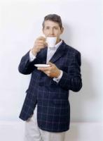 Beim Tee-Trinken ist