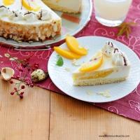 Sturm-Pfirsich-Torte