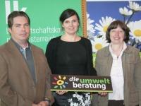 Mag. Josef Ritt (Austria Bio Garantie GmbH), Mag. Natascha Prey (