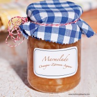 Orangen-Zitronen-Ingwer-Marmelade