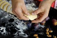 Kochschule Zwetschkenknödel
