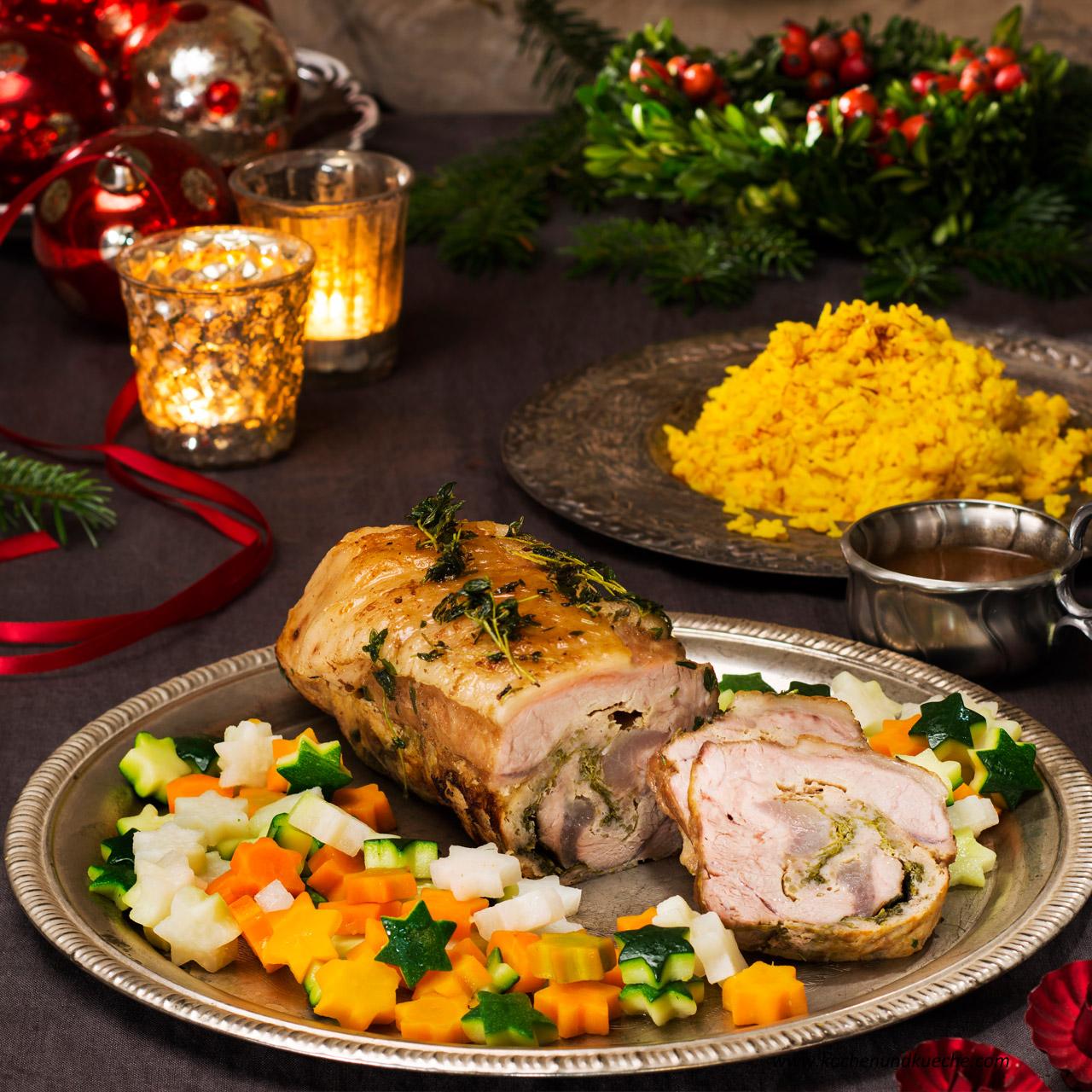 weihnachtliches festtagsmen kochrezepte von kochen k che. Black Bedroom Furniture Sets. Home Design Ideas