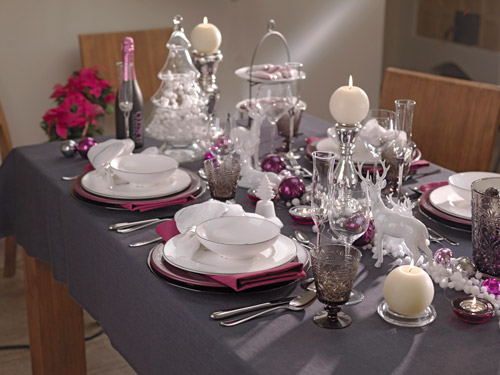 weihnachtliche tischdekoration kochrezepte von kochen k che. Black Bedroom Furniture Sets. Home Design Ideas