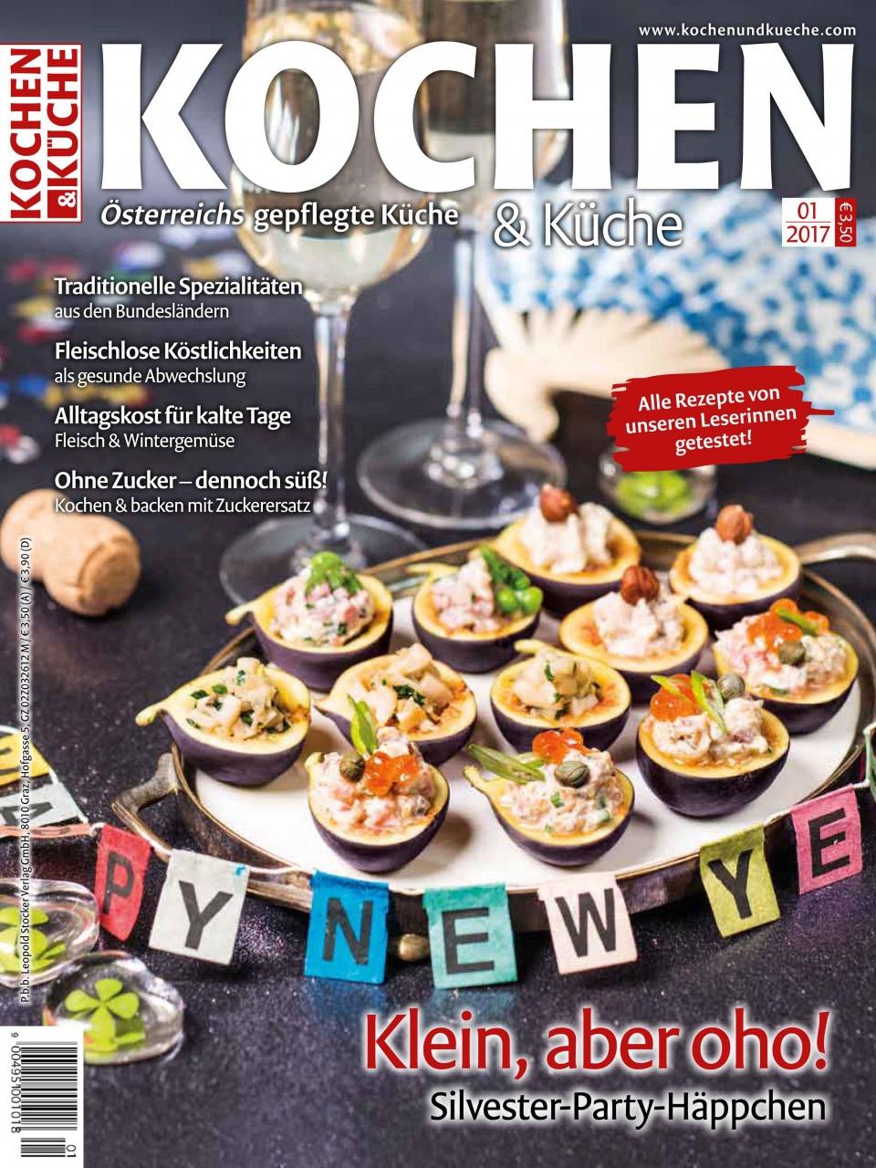 Magazin Ausgabe Jänner 2017 » Kochrezepte von Kochen & Küche