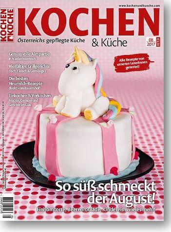 Magazin Ausgabe August 2017 » Kochrezepte von Kochen & Küche