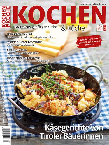 Magazin Ausgabe September 2016 » Kochrezepte von Kochen & Küche